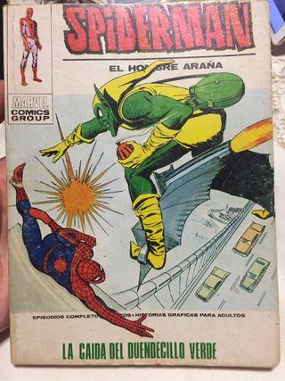 Spiderman número 55 Vértice