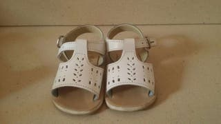 Zapatos blanco 16