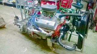 Motor v8 350 Chevrolet corvette