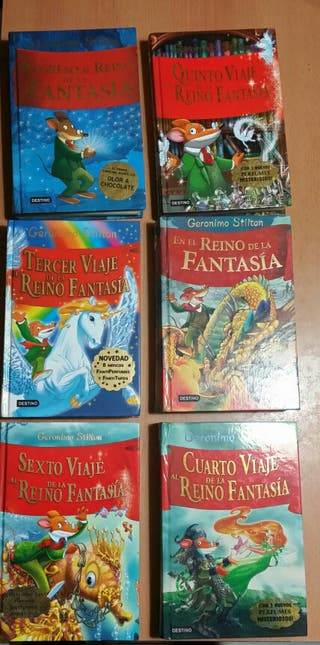Viaje al reino de la Fantasía Gerónimo Stilton