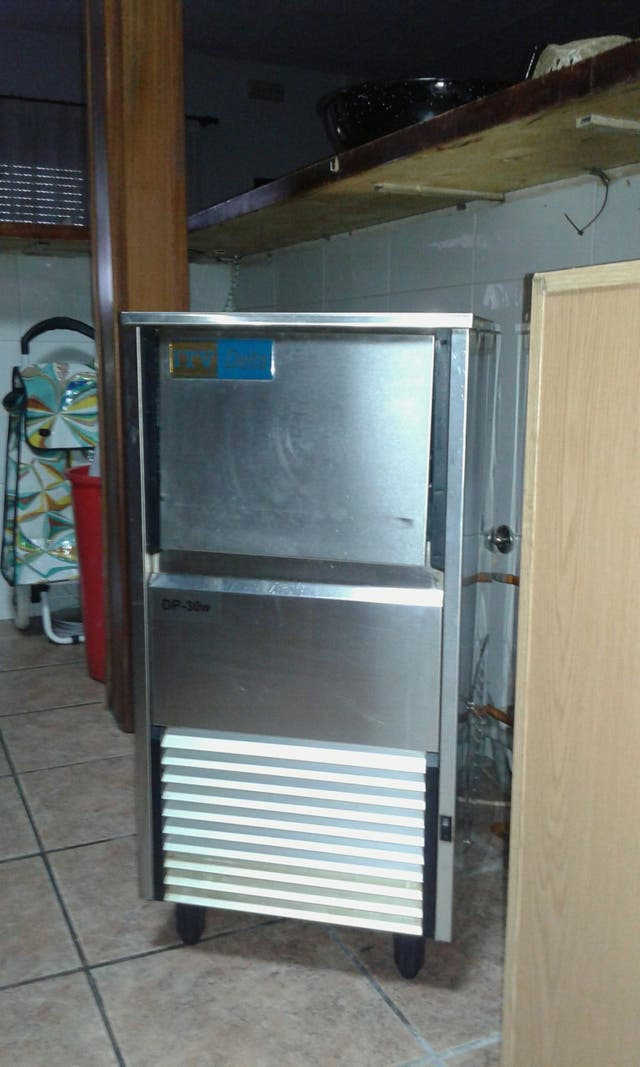 frabricador de hielo