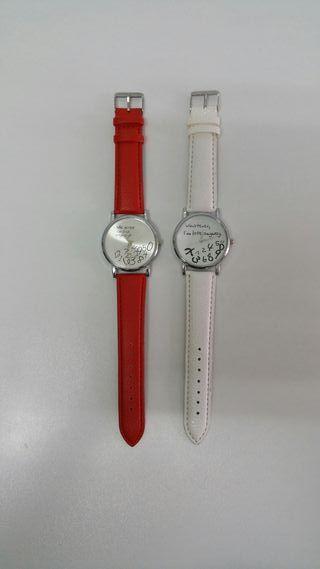 pak de 2 relojes