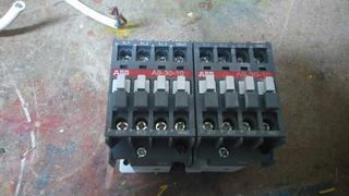2contactores ABB A9-30-10.Caracteristicas en fotos