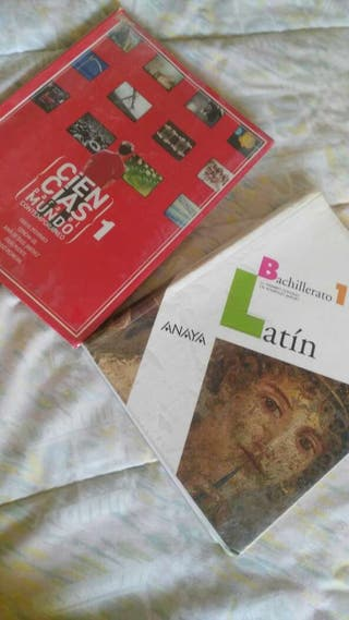 Libros 1 bach CMC y Latín