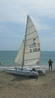 catamaran dart 15