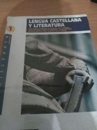 Libro primero bachiller lengua