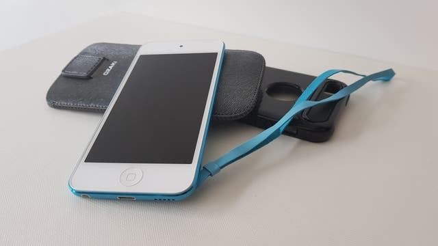 iPod touch 4g de 64gb azul claro perfecto estado!