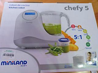Robot de cocina Miniland Chefy5 Silver
