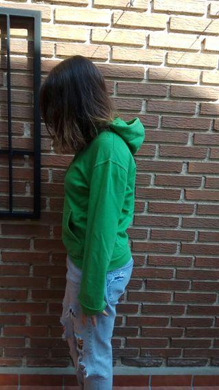Sudadera verde