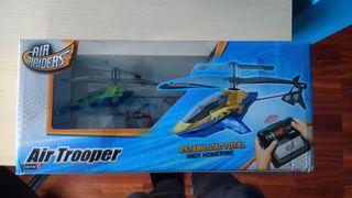 juguete niño -helicóptero radiocontrol- A ESTRENAR