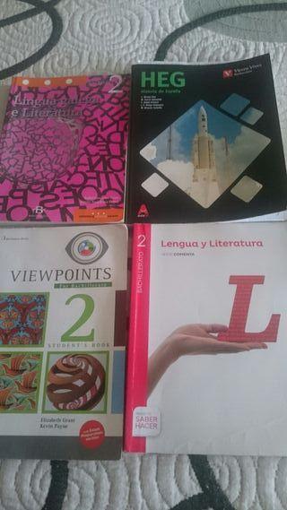 libros 2 de bachiller