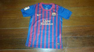 camiseta futbol barcelona talla 8-10 años/S 2013