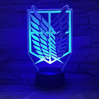 Lámpara Ataque a los Titanes