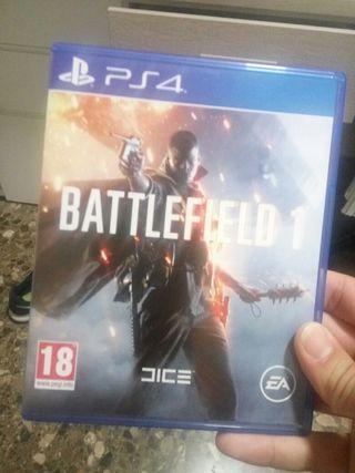 Juego ps4: Battlefield 1