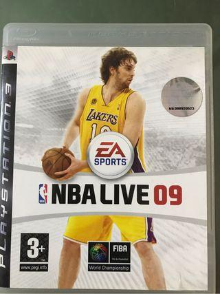 Juego ps3 NBA09