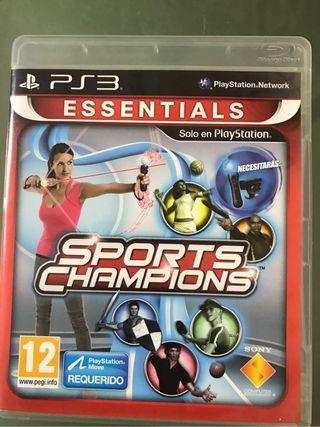 "Juego ps3 ""Sports Champions"""