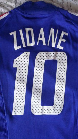 Camiseta Zidane Francia Mundial 2002 (Talla M)