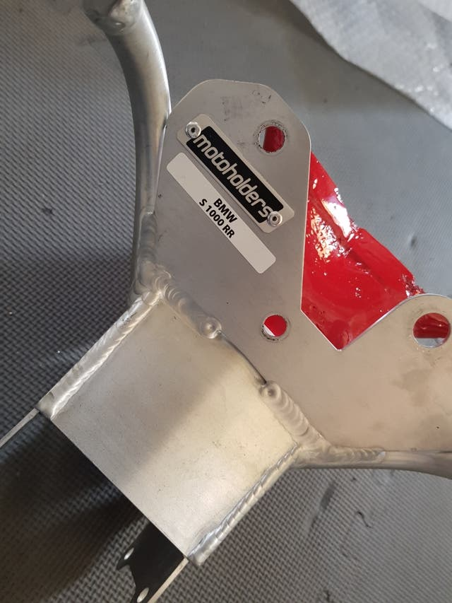 araña aluminio bmw s1000rr motoholders