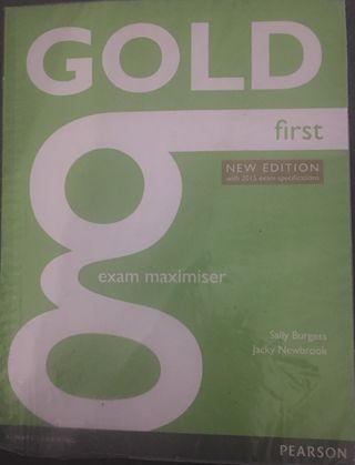 Libro GOLD FIRST 3 ESO EXAM MAXIMISER