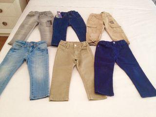 jeans niño benetton dos años