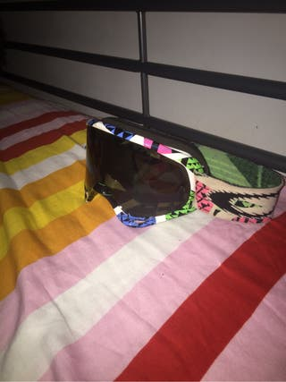 Gafas fox casco