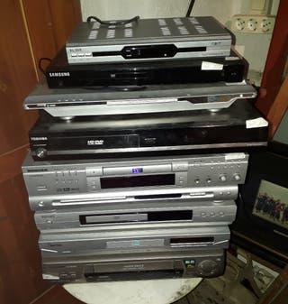 DVD y VHS