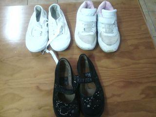 Zapatillas y zapatos niña