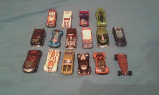 Pack 16 coches Hotwheels originales
