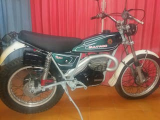 moto clasica bultaco alpina 250cc