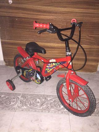 Bicicleta para peques