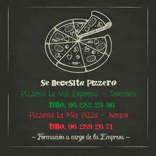 Se busca pizzero