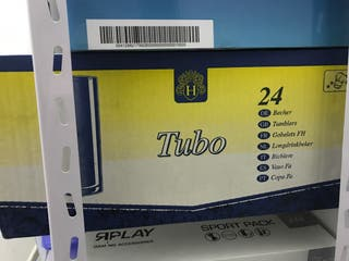 Caja de 24 vasos tubo nuevos