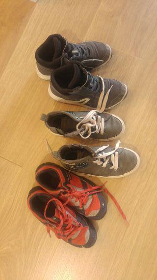 Zapatillas número 33