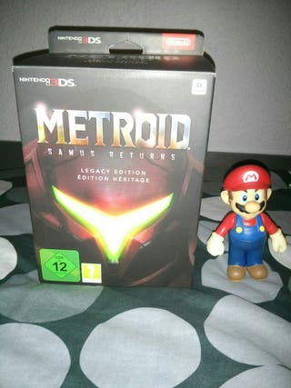 Metroid Returns Legacy Edition 3ds