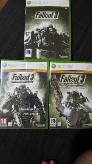 Fallout 3 + 2 expansiones Xbox 360