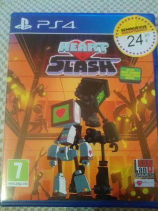 heart & slash, juego ps4