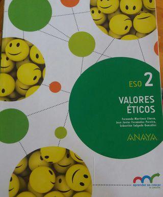 Libro Valores Eticos 2 ESO