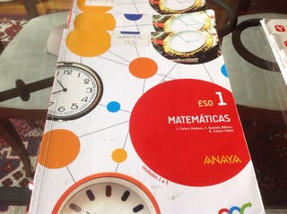 Libros Primero Eso Matematicas