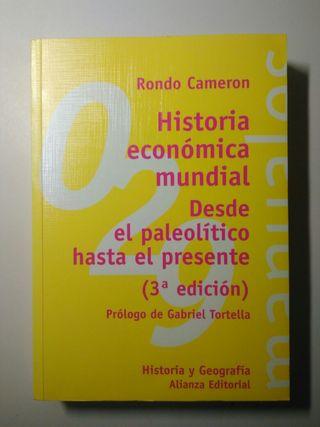Libro Historia económica mundial Rondo Cameron