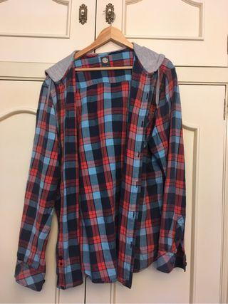Camisa hombre con gorro element XL