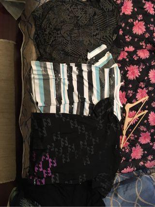 3 camisetas billabong XL