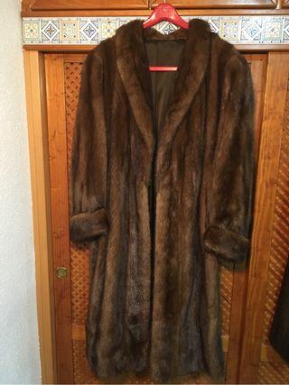 Abrigo piel Visón alta calidad