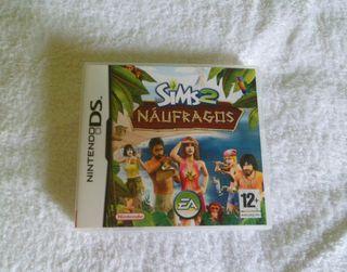 Juego nintendo ds Los Sims 2 Náufragos
