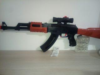 pistola de gel