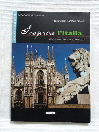 libro con ejercicios en italiano