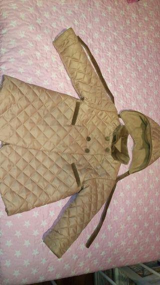 Abrigo y gorrito