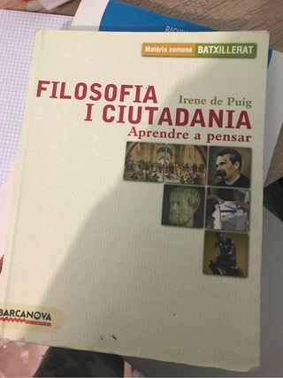 Libro de filosofia 1ro Batx
