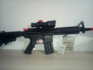 pistola gel 600 balas