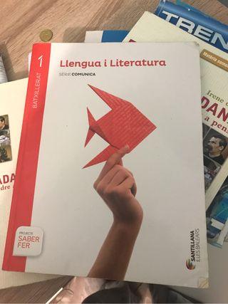 Llibre de català 1er Batxiller