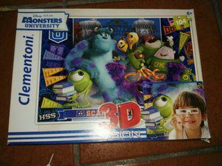 Puzzle 3D Monstruos S.A